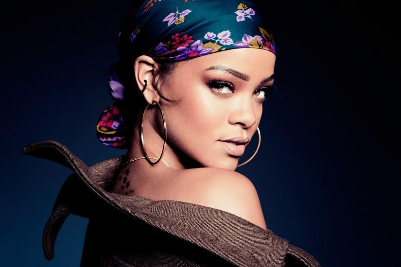 Preview wallpaper rihanna, saturday night live, singer, face 1920x1080