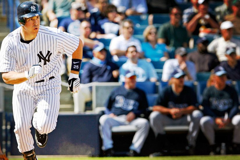 Mark Teixeira with the New York Yankees 1920x1200 wallpaper