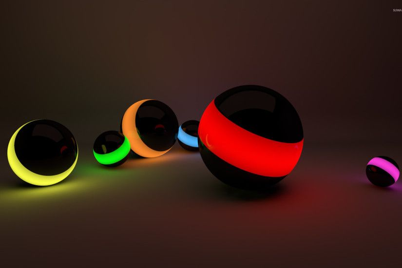 Lit balls wallpaper 1920x1200 jpg
