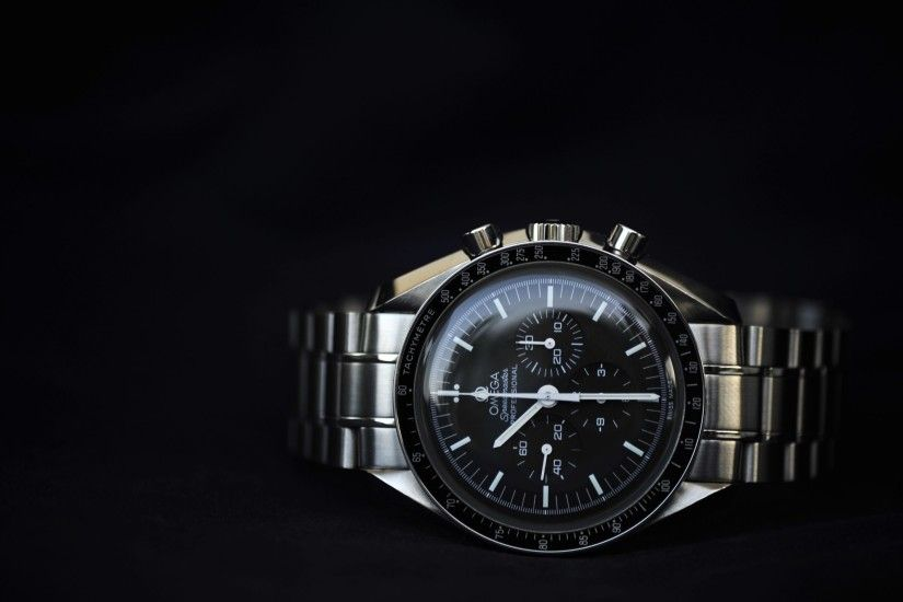 "4K HD Wallpaper: Omega Speedmaster Professional ""Moonwatch"""