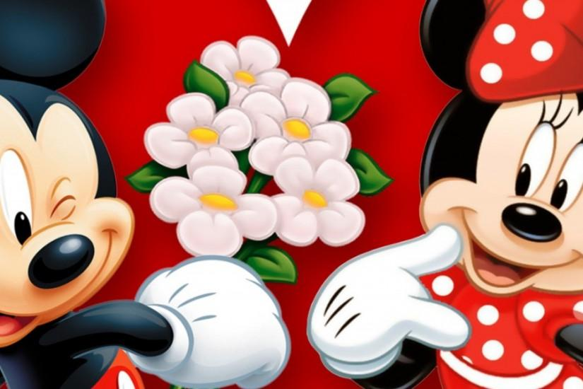 3840x1200 Wallpaper minnie mouse, mickey mouse, mouse