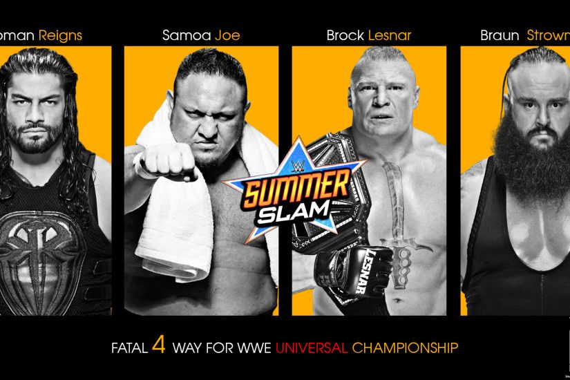 WWE Summerslam 2017 Wallpaper by Arunraj1791 WWE Summerslam 2017 Wallpaper  by Arunraj1791