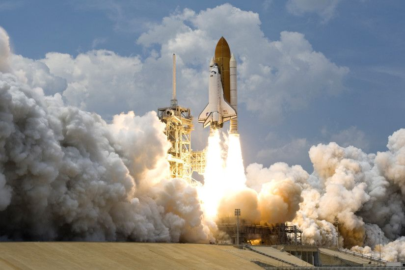 Daily Wallpaper: Space Shuttle Atlantis Takeoff | I Like To Waste My Time