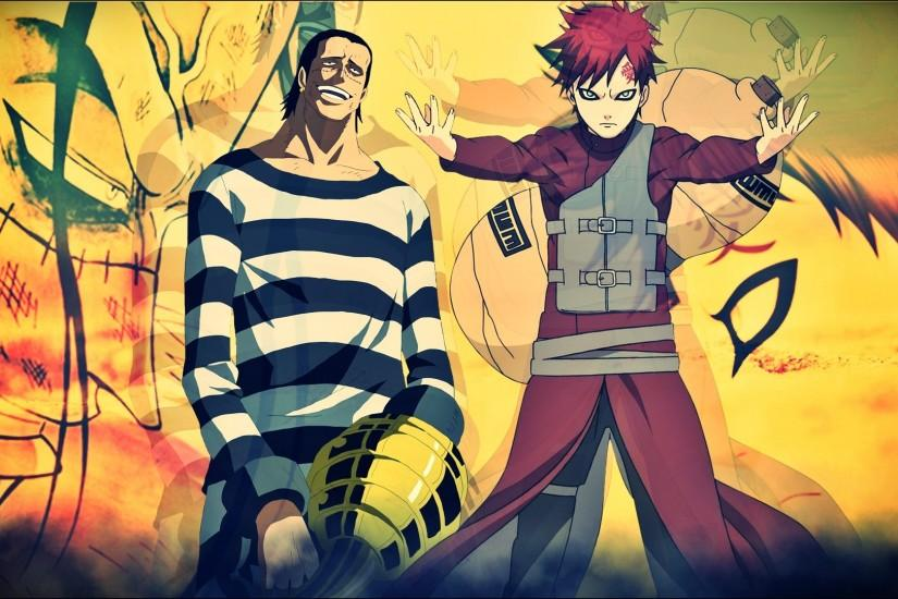 Crocodile x Gaara Wallpaper by Kingwallpaper Crocodile x Gaara Wallpaper by  Kingwallpaper