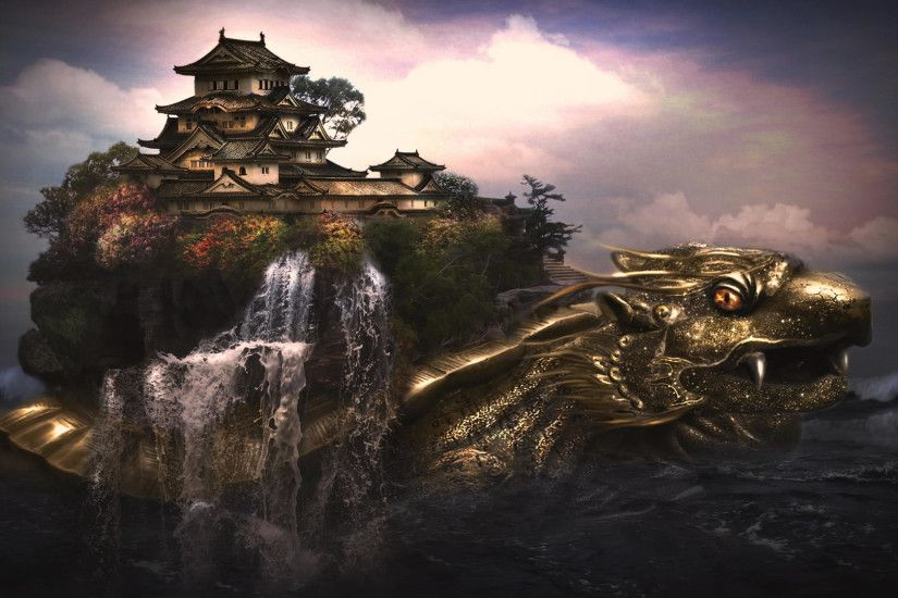 Dragon Village Fantasy wallpaper thumb