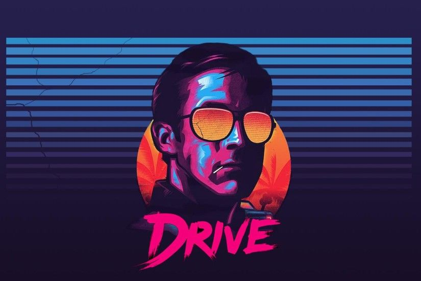 Drive Poster Wallpaper Wallpaper Version of The Drive