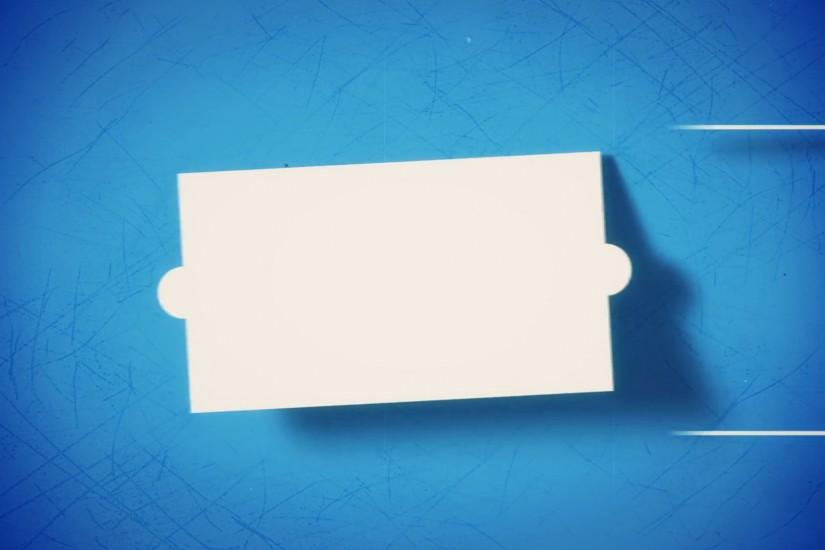 Vintage stylized solid elements flat animation on blue background for the  titles Motion Background - VideoBlocks