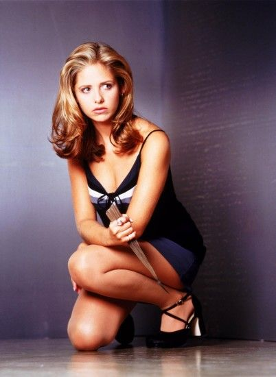 Along with the chokers, miniskirts and halter necks, Buffy's outfit was not  complete without her trusted vampire-killing stake. Making slaying look  sexy, ...