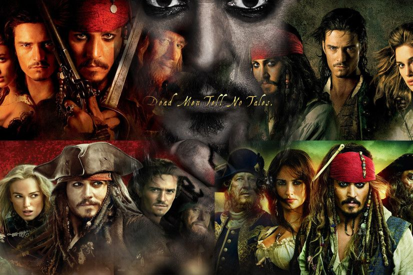 ... Pirates of the Caribbean 1-5 Wallpaper by The-Dark-Mamba-995