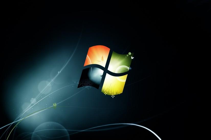 Windows 7 Black Wallpaper For Desktop