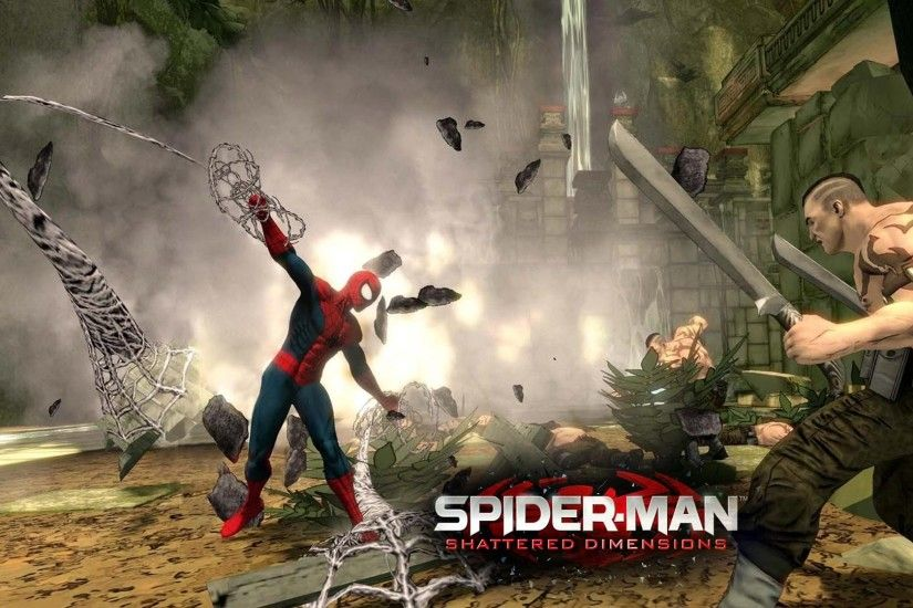 Spider Man Shattered Dimensions Pc