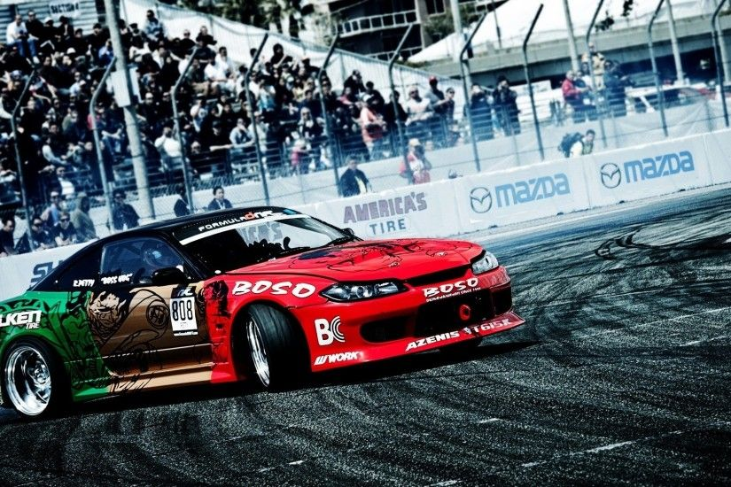 race Cars, Drift, Smoke Wallpapers HD / Desktop and Mobile Backgrounds