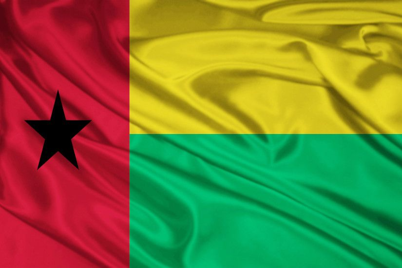 Guinea Bissau Flag wallpapers and stock photos