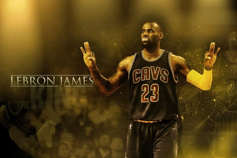 NBA Wallpaper LeBron James Cavaliers.