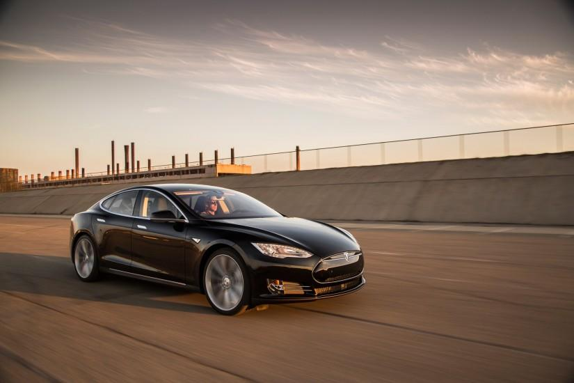 2015 Tesla Model S Wallpaper Full HD