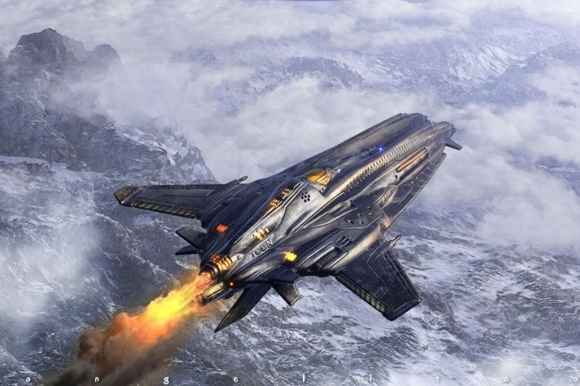 Spaceship Wallpaper Picture Gallery #k0e0sbv2