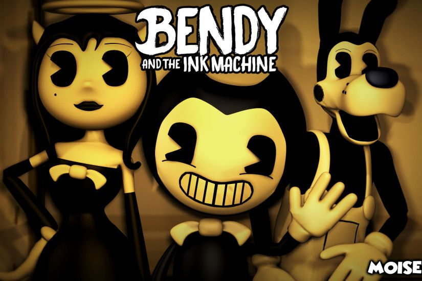 ... Bendy and the Ink machine Wallpaper [SFM] by Moises87
