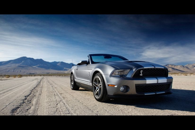 Ford Shelby GT500 Front 3 wallpapers and stock photos