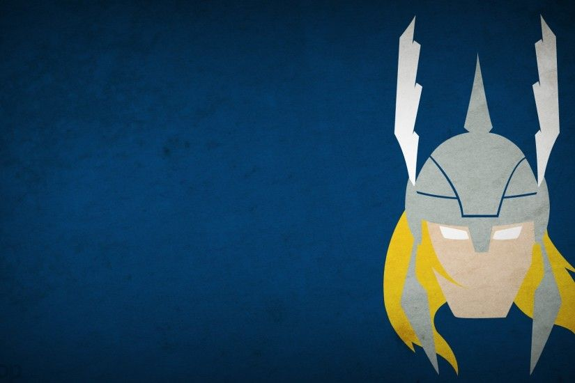 ... Super heroes Minimalist Wallpapers ...