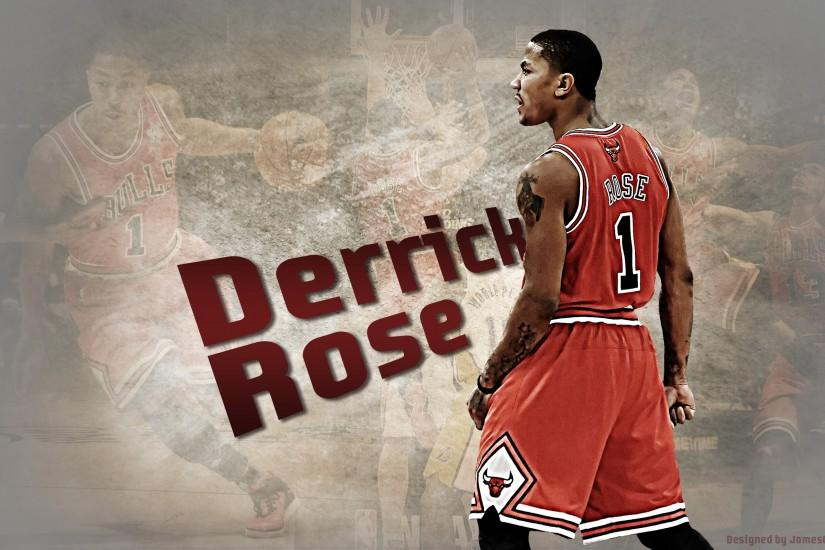 Derrick Rose Chicago Bulls - Download Wallpaper