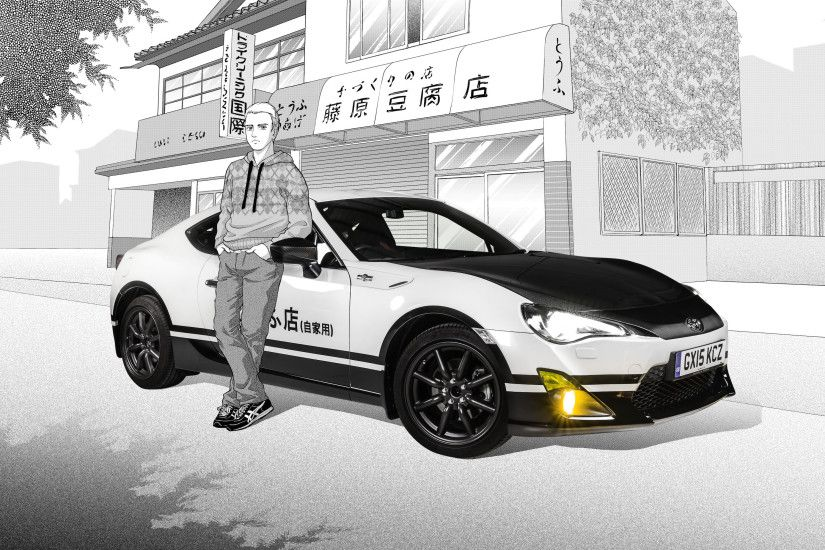 The Toyota GT86 Initial D Concept Is An Awesome Car-Based Manga Celebration