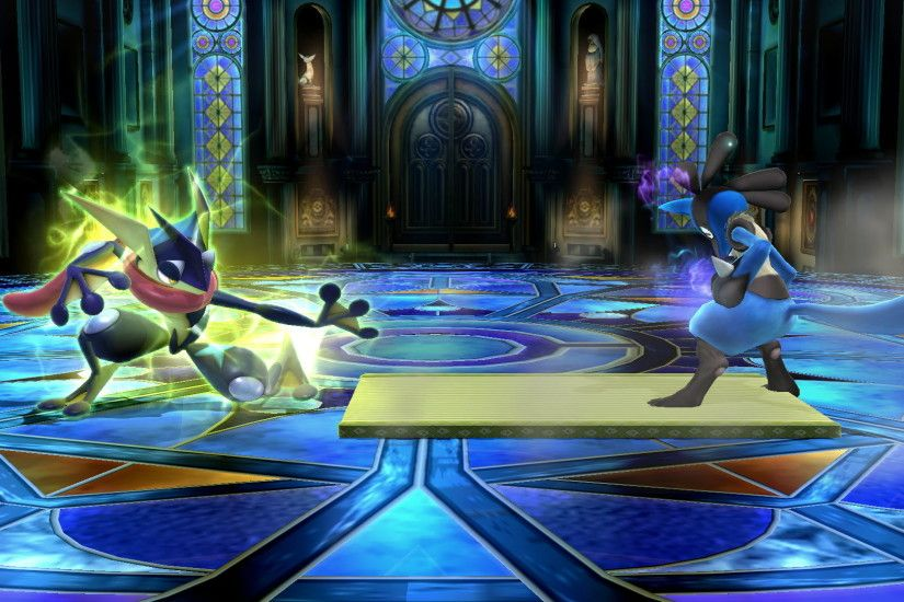 -In Smash Bros., Greninja uses one as a counter, letting the doll take a  blow, while Greninja does a counter-attack