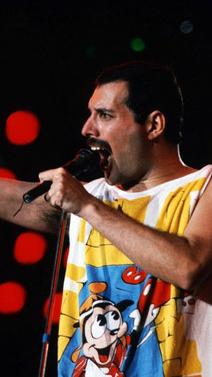 1440x2560 Wallpaper freddie mercury, singer, performance