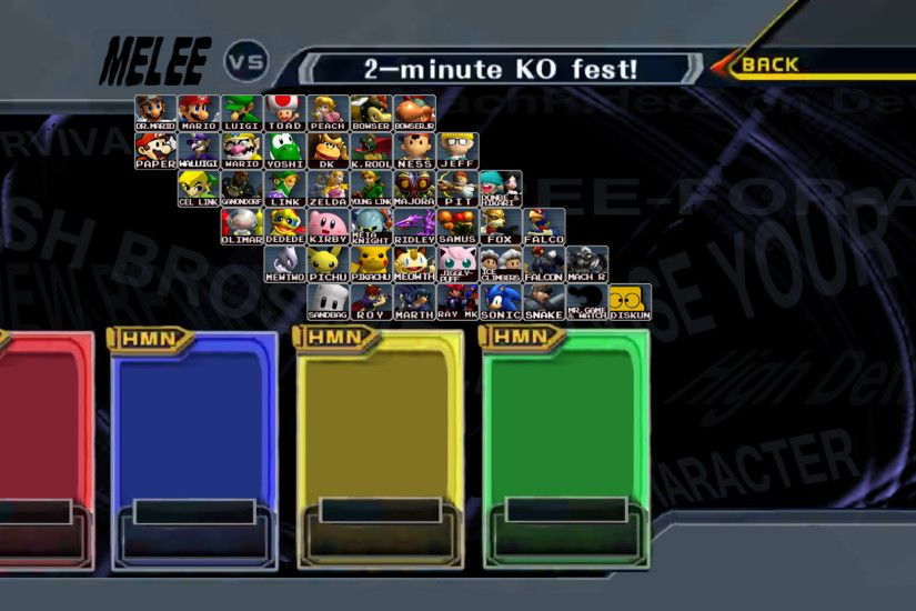 Super Smash Bros. Melee HD REVIVAL by ConnorRentz