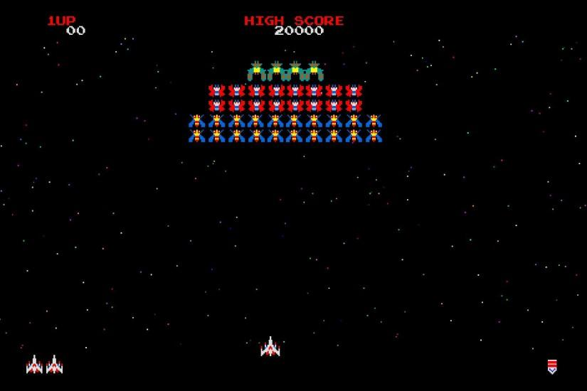 Video games arcade galaga wallpaper | 1920x1200 | 16505 | WallpaperUP
