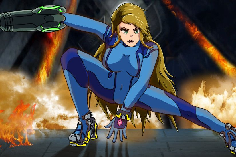 ... Zero Suit Samus Metroid Other M Wallpaper by BlueSuperSonic