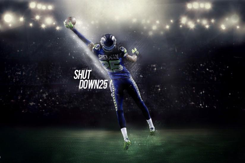 Richard Sherman Seattle Seahawks Shutdown25 by 31ANDONLY on DeviantArt