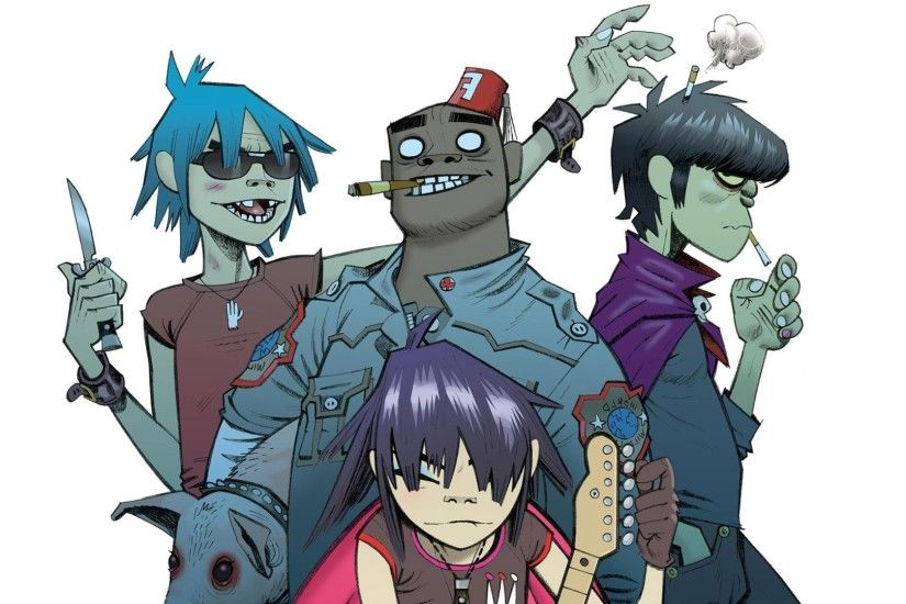 Gorillaz Wallpaper and Background | 1820x1024 | ID:243893 ...
