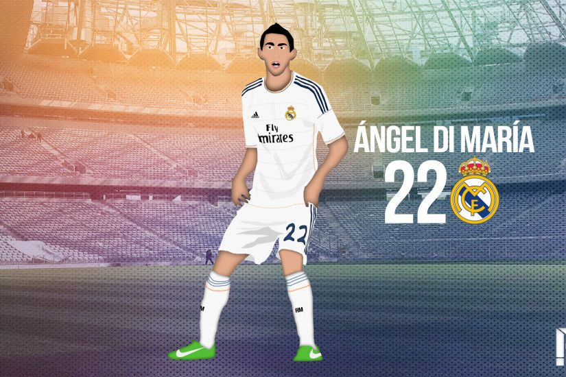 ... Angel Di Maria (CARTOON) by selcukinan8