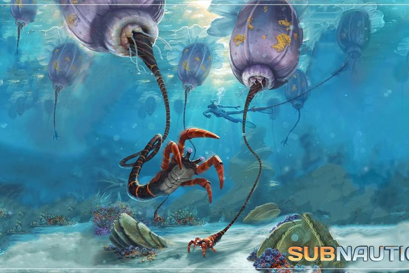 Jengineerr 76 25 Subnautica: Coral Reef Grappers by Jengineerr