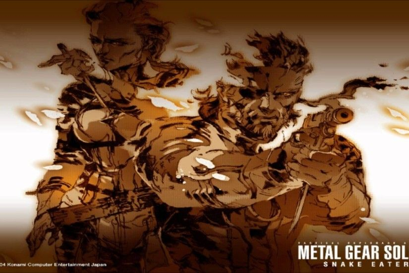 Snake Eater - Metal Gear Solid 3 Snake Eater (HD 720p) by Cynthia Harrell
