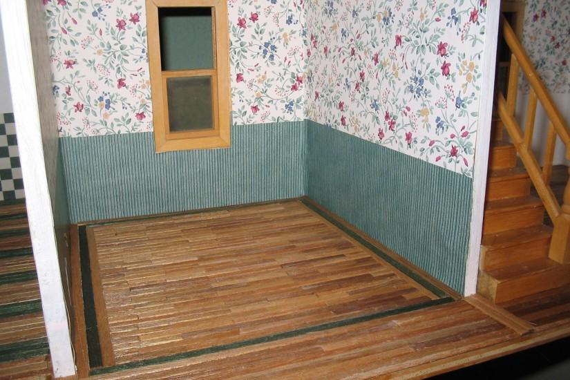 dollhouse floor inlay