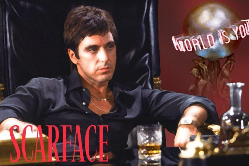Scarface Tony montana Wallpaper 2 by EJLightning007arts Scarface Tony  montana Wallpaper 2 by EJLightning007arts
