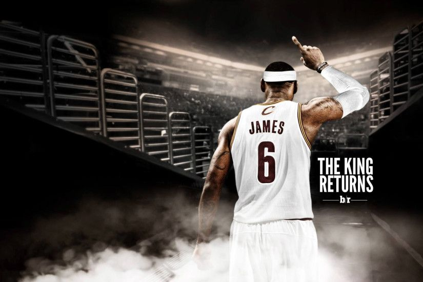 Lebron James Cleveland Cavaliers Wallpaper.
