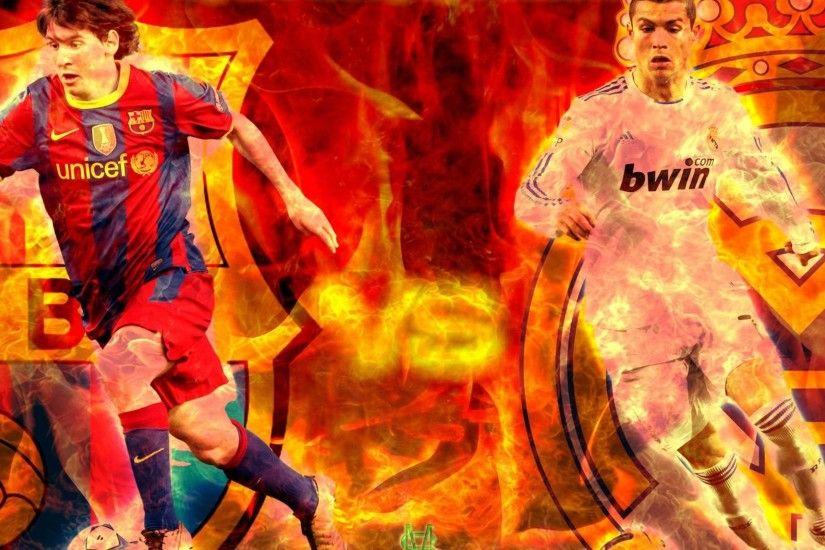 Messi Vs Ronaldo Wallpaper 2018 Hd
