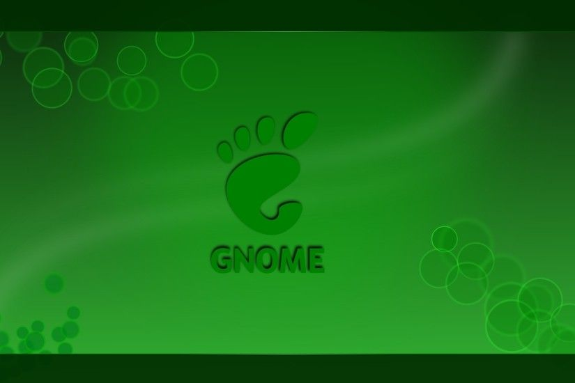 ... Gnome Wallpaper HD - Green by KoRnyKattos