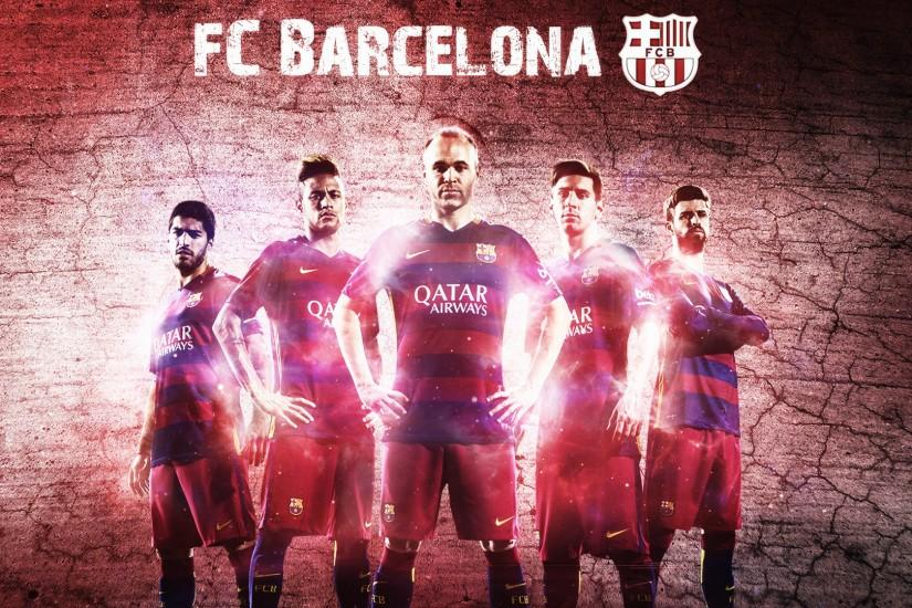 FC Barcelona 2015/2016 Wallpaper by RakaGFX on DeviantArt