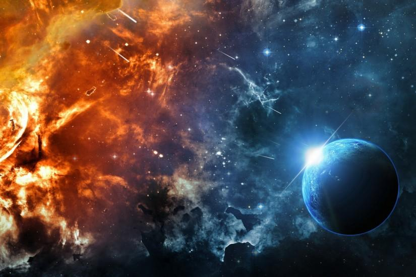 large universe background 1920x1200 for 4k
