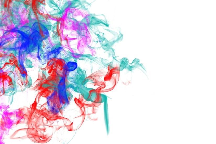1920x1080 Wallpaper smoke, patterns, lines, colorful