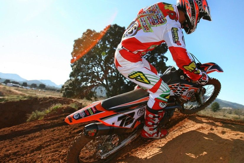 Free Download Motocross Ktm Picture.