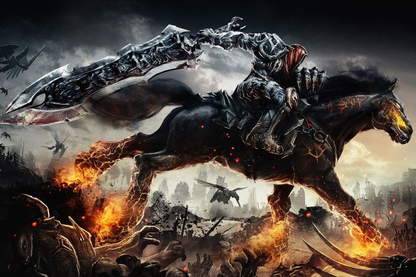 Darksiders Wrath of War PS3 Wallpapers