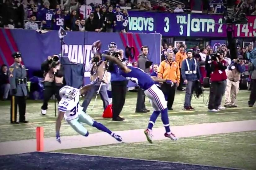Odell Beckham Jr 's Touchdown Catch (NewYork Giants vs Dallas .