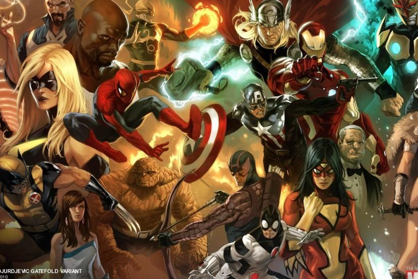 Avengers Comic Wallpaper