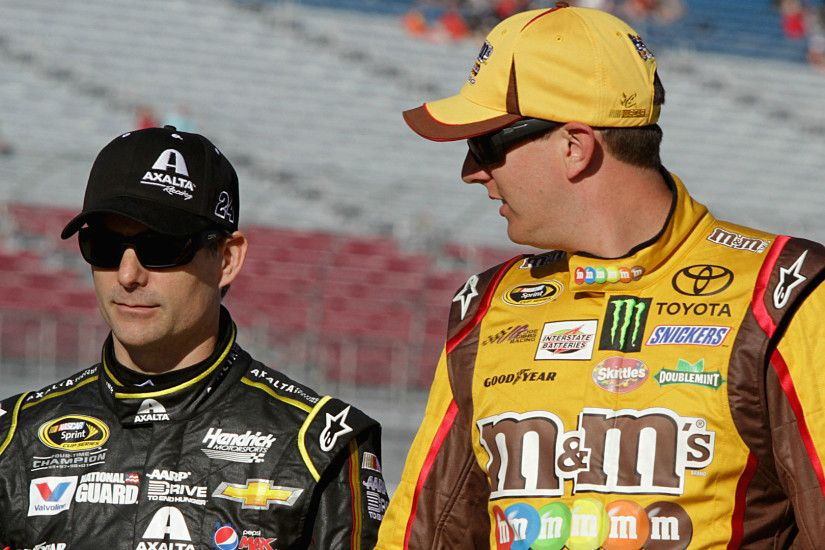 Kyle Busch doesn't think Jeff Gordon can win Sprint Cup title | NASCAR |  Sporting News