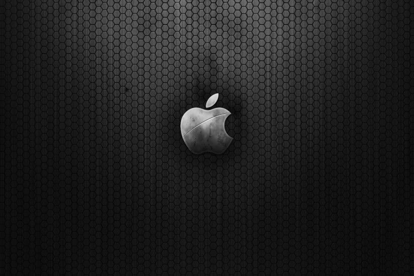 Apple Metal Wallpaper Apple Computers