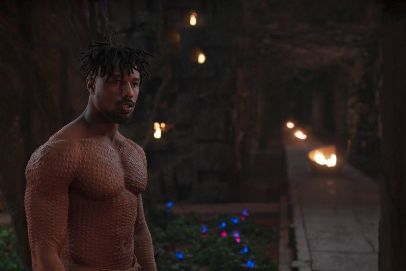 Marvel Studios' BLACK PANTHERErik Killmonger (Michael B. Jordan)Ph: Film  Frame